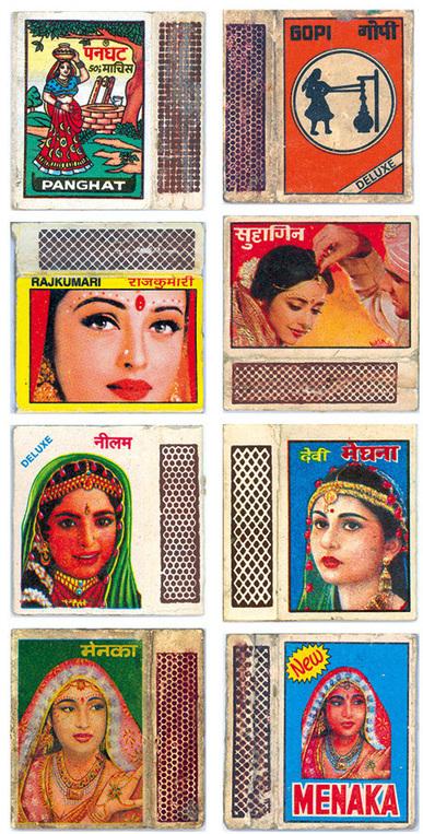 Vintage Indian Matchbook Labels | Sitä sun tätä, this and that | Scoop.it