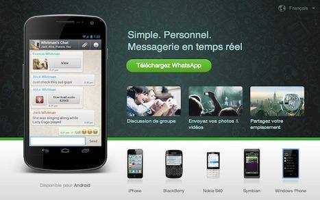 Google s'apprêterait à racheter WhatsApp pour 1 milliard de dollars | Emerging ebusiness trends | Scoop.it