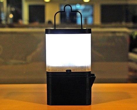 Una lámpara que funciona 8 horas con un solo vaso de agua salada | La R-Evolución de ARMAK | Scoop.it