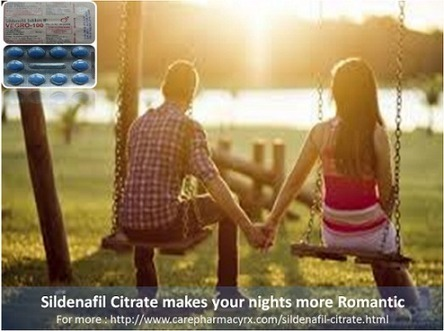 Sildenafil Citrate is used for making nights Romantic | Health | Scoop.it