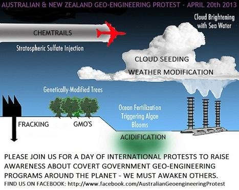 GeoengineeringWatch.org | GEO-ENGENEERING (CHEMTRAILS)  CALL IT WHAT YOU WANT!    STOP! | Scoop.it