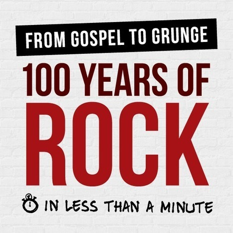 100 Years of Rock Visualized | Las INFOARQUEOLOGÍAS de Pato Infoarqueólogo | Scoop.it