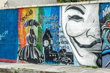 Ecuador Graffiti: Street Art Expressions - Travel Addicts | ESL- EFL and Art | Scoop.it