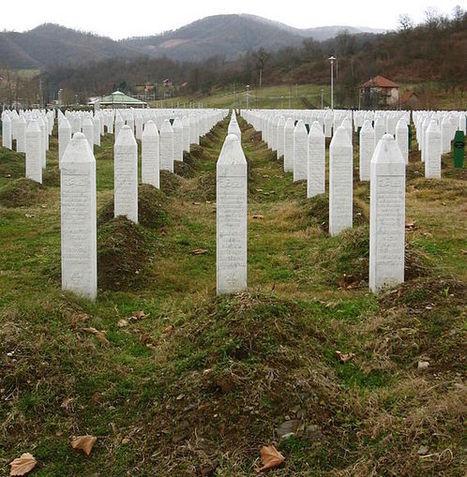 File:Srebrenica massacre memorial gravestones 2009 3.jpg - Wikipedia, the free encyclopedia | Genocide Grace M. | Scoop.it