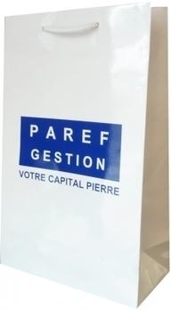Sac personnalisé: Paref Gestion a fait le choix d'un pelliculage brillant - Le Sac Publicitaire   Sac luxe publicitaire   Scoop.it