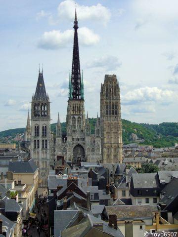 La Cathédrale Notre-Dame de Rouen parmi les plus belles cathédrales de France   MaisonNet   Scoop.it