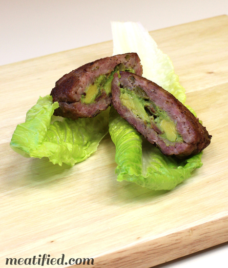 Stuffed Bacon Guacamole Burger {AIP} - meatified | Truly Healthy Recipes | Scoop.it