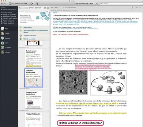 Evernote en las aulas... Evernote en todos los sitios. | Herramientas web 2.0 | Scoop.it