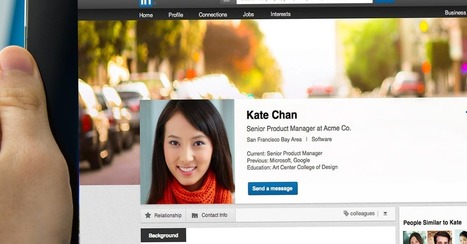 LinkedIn's New Profile Design Takes a Hint From Facebook and Twitter | Social Media and Marketing | Scoop.it