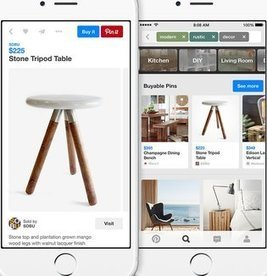Pinterest Brings E-Commerce to Social Scrapbooking With 'Buy It' Button | Pinterest & Instagram for Nonprofits | Scoop.it
