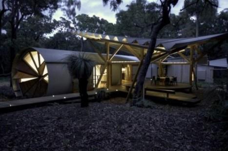 Camping de luxe   Le Procrastinateur   le cottage landais: en osmose avec la nature   Scoop.it