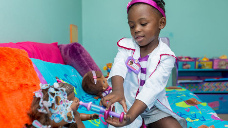 Race in Toyland: A Nonwhite Doll Crosses Over   Mixed American Life   Scoop.it