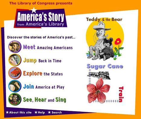America's Story from America's Library | Education Matters - (tech and non-tech) | Scoop.it