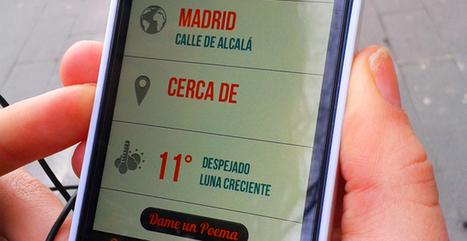 Poetika, una app para dejarnos sorprender por la poesía en español   Montar el Mingo   Scoop.it
