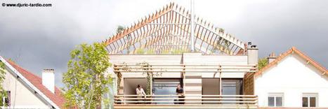 La maison bois intégrée à la ville | LAFORET MOLSHEIM | Scoop.it