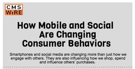 [INFOGRAFÍA] ¿Cómo lo social y el móvil están cambiando el comportamiento del consumidor? | social | Scoop.it