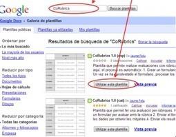 CoRubrics, una plantilla para evaluar con rúbricas | Linguagem Virtual | Scoop.it