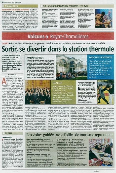 Royat Chamalières   office de tourisme   Historic Thermal Cities Villes Thermales Historiques   Scoop.it