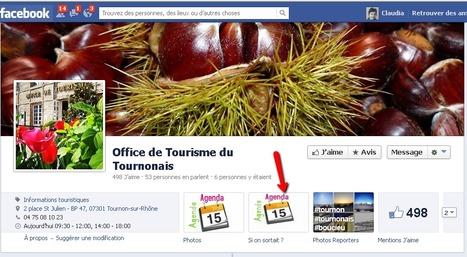 Page Facebook de l'Office de Tourisme du Tournonais | Sites qui ont implémenté les Widgets Sitra | Scoop.it