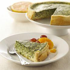Recette de quiche aux épinards, oignons verts et fromage   Enfants, cuisine, jeux, activités, déguisements, décorations   Scoop.it