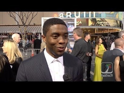 Chadwick Boseman on Black Panther rumors, Draft Day and James Brown | Marketing | Scoop.it