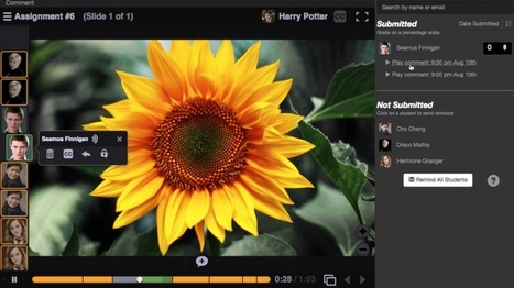 VoiceThread - Create interactive, multimedia slideshow presentations | E-learning | Scoop.it