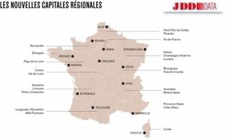 Et les nouvelles capitales de région sont...   Languedoc Roussillon : actualité économique   Scoop.it