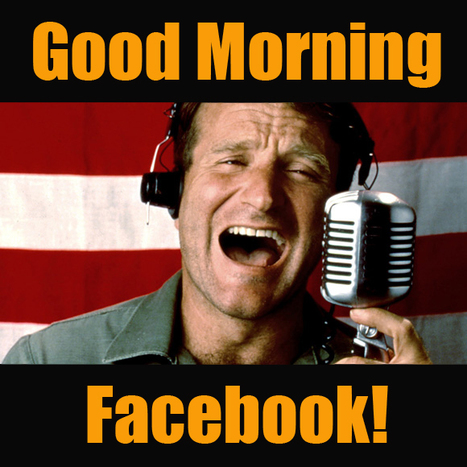 Do you wake-up with Facebook? (Most do!) | Promotional Marketing | Scoop.it