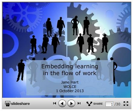 Embedding learning in the flow of work | APRENDIZAJE | Scoop.it
