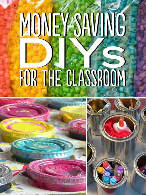 35 Money-Saving DIYs For Teachers On A Budget   Teaching Tips   Scoop.it
