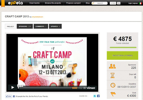 Réussir sa campagne de financement participatif ou crowdfunding   Blog français d'Etsy   DD   Scoop.it