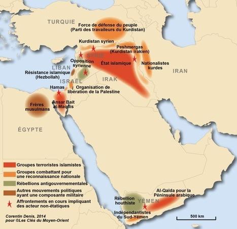 Cartographie des groupes armés non-étatiques au Moyen-Orient | Infos Histoire | Scoop.it