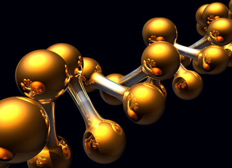 Incredible nanogold paint changes color as it responds to touch | #Innovation | Scoop.it