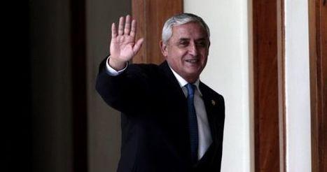 El Congreso de Guatemala retira la inmunidad al presidente Otto Pérez | La R-Evolución de ARMAK | Scoop.it
