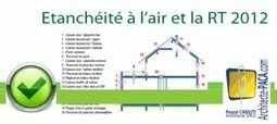 Test étanchéité à l'air : Obligatoire RT 2012 ? | IMMOBILIER 2013 | Scoop.it
