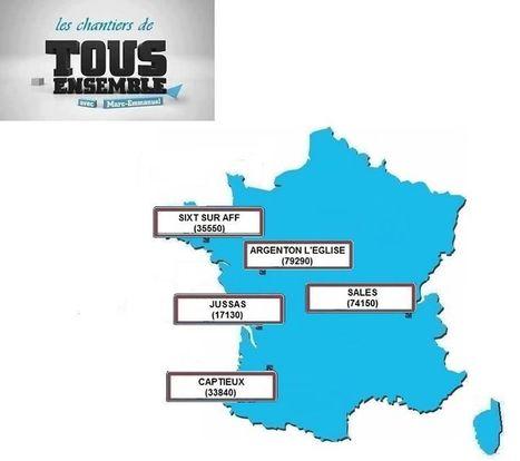 TOUS ENSEMBLE : chantier solidaire à Sixt-sur-Aff (35550) | Tout Ce Qui Se Passe Près De Chez Moi .fr | Scoop.it