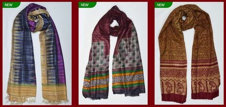 Shawl: Let your favorite shawl make you a true fashionista | Sari Dhoti and Designer Shawl for Women | Scoop.it
