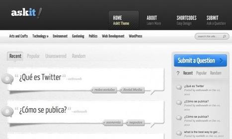 Créer un site de question-réponse avec Wordpress | Mon cyber-fourre-tout | Scoop.it