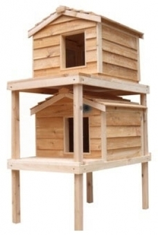 Why You Should Give Your Pet an Outdoor Cat House | Custom made cat condos | Scoop.it
