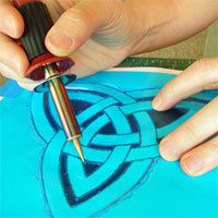 How to make your own stencils   Creative Textile Arts   For Fabric Lovers   Scoop.it