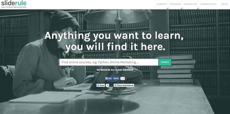 Looking for an online summer course? Try SlideRule! | APRENDIZAJE | Scoop.it