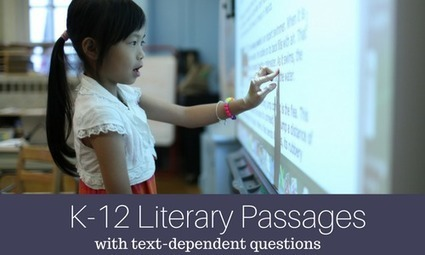 ReadWorks.org | Literary Passages with Text-Dependent Questions | Oakland County ELA Common Core | Scoop.it