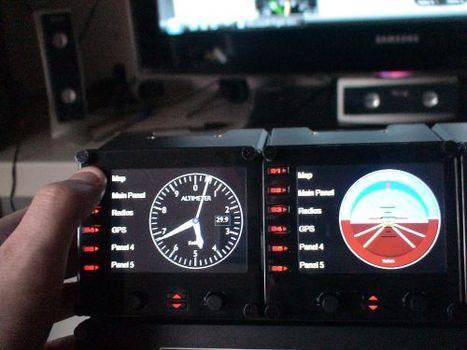 Pro et multi panel de saitek pour flight simulator   Flight simulator   Scoop.it
