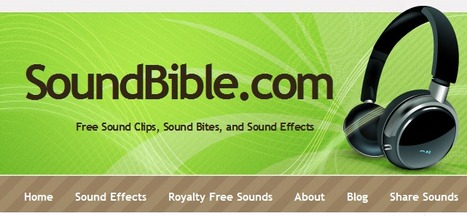 SoundBible - Free sound clips for your presentations | Digital Presentations in Education | Scoop.it