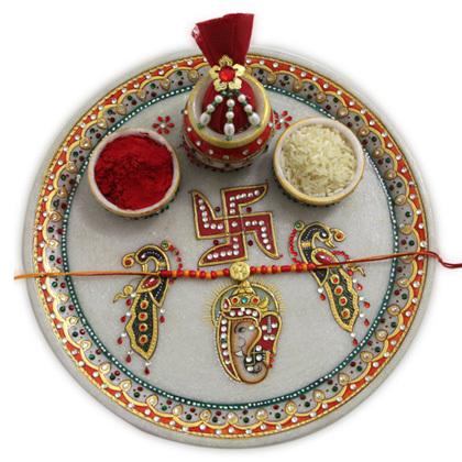Rakhi Puja Thali | Rakhi Gifts 4 Brothers | Scoop.it