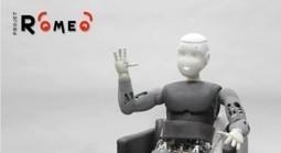 Roméo, le robot humanoïde d'Aldebaran Robotics en vidéo | Robolution Capital | Scoop.it