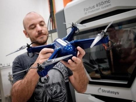 Premier drone imprimé en 3D avec électronique embarquée – Additiverse | Fédération Belge du Drone civil | Scoop.it