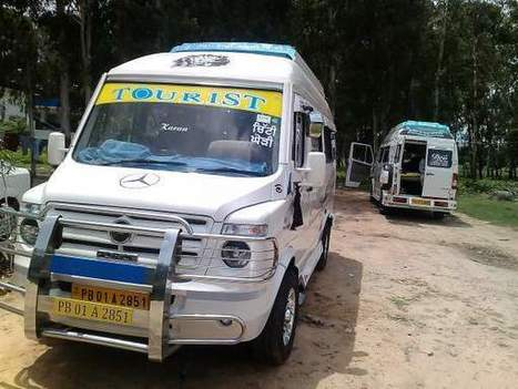 Tempo traveller on rent in chandigarh +919855854949 | taxi service | Scoop.it
