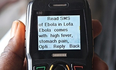 Ebola: how text-messaging is being used to help combat the outbreak | TunstallGeog The Technological Fix (A2 Edexcel) | Scoop.it