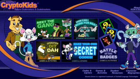The NSA's website for kids isn't creepy. Nope. Not creepy at all. | Strange days indeed... | Scoop.it